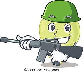fusil, tenue, image, dessin animé, ganglion lymphatique, machine, armée