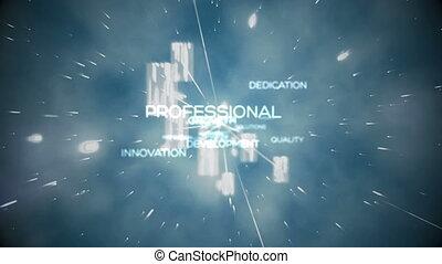 futuriste, animation