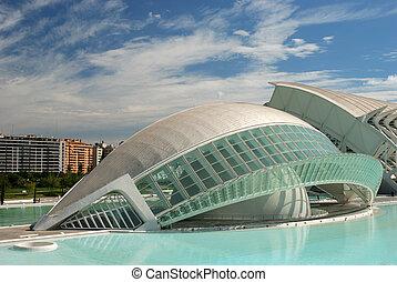 futuriste, bâtiment