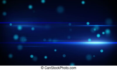 futuriste, bleu, boucle, raies, lumière
