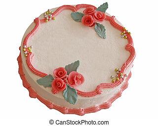 gâteau, élégant