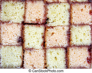 gâteau, battenburg