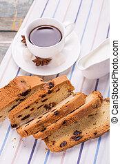 gâteau café