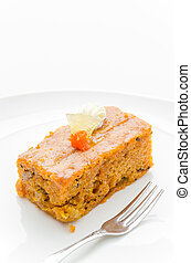 gâteau, carotte