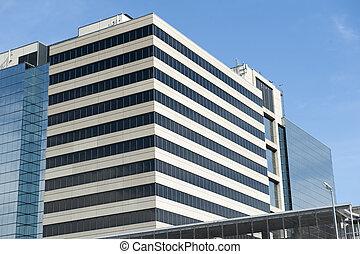 générique, bâtiment, bureau