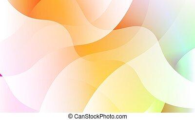 géométrique, illustration., backgrounds., vague, arrière-plan., gabarit, vecteur, forme., cellule, hologramme, téléphone, résumé, gradient