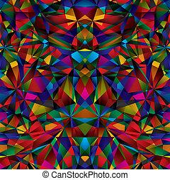 géométrique, pattern., seamless, surface