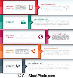 gabarit, affaires modernes, infographics