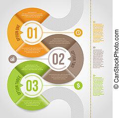 gabarit, résumé, infographics