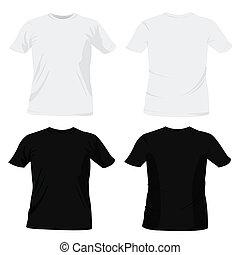 gabarits, t-shirt, conception