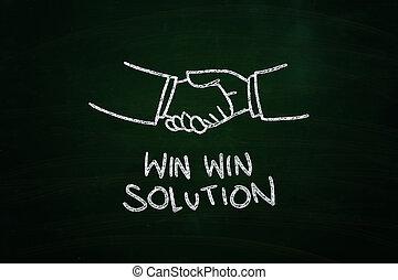 gagner, solution