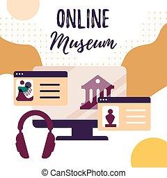 gallerytours., art, virtuel, objets exposés, interactif, exhibition., online., musée, tours., ligne