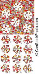 game., christmas:, solution, morceaux, layer!, caché, allumette, visuel