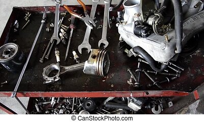 garage, outils