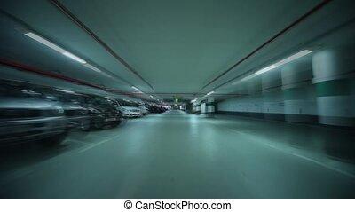 garage, stationnement