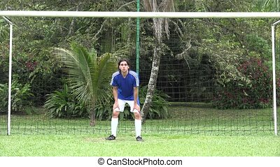 gardien de but, joueur football, futbol