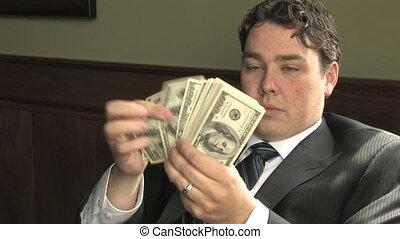 gars argent, 2, compte, riche