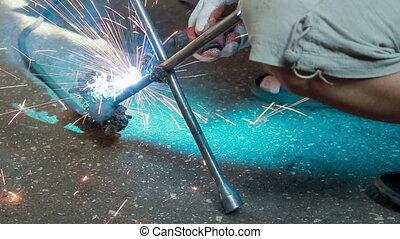 gas-welding, travaux