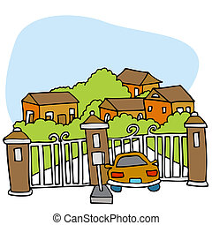 gated, communauté