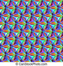 gemmes, seamless, triangulaire, motifs, fond, géométrique