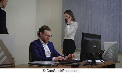 gens bureau, fonctionnement, business
