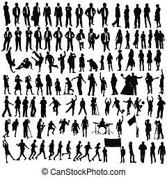 gens, (, children), business, style de vie, sport, musique