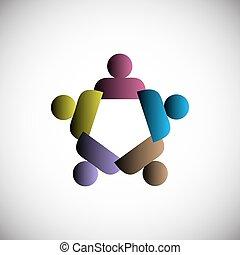 gens, concept, unité