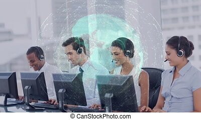 gens fonctionnement, callcenter