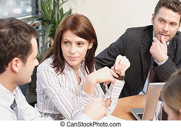 gens, fonctionnement, projet, groupe, business