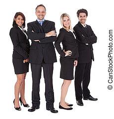 gens, groupe ensemble, business
