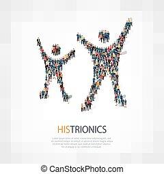 gens, histrionics