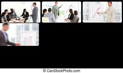 gens, présentation, business