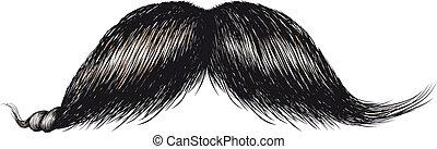 gentlemans, moustache