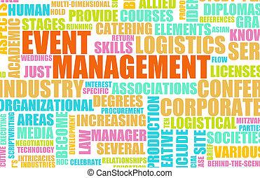 gestion, événement