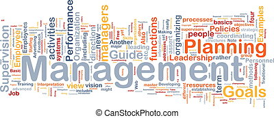gestion, concept, fond