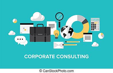 gestion, consultant, concept, constitué