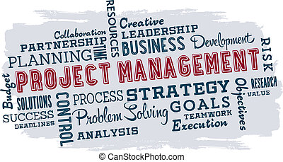 gestion projet, business, mots