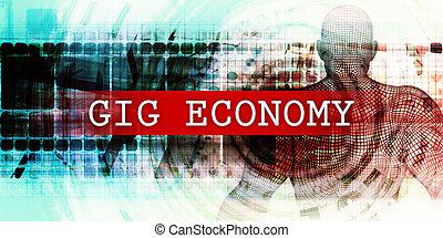 gig, secteur, économie