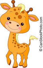girafe, amusement, zoo.