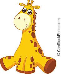 girafe bébé