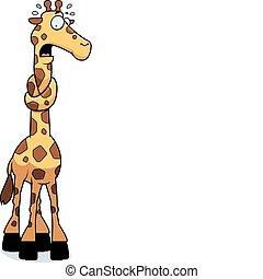 girafe, cou