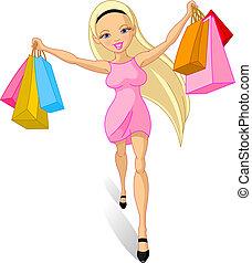 girl:, achats