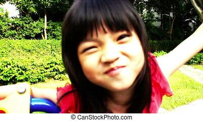 girl, asiatique
