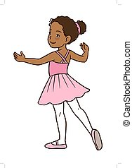girl, ballerine