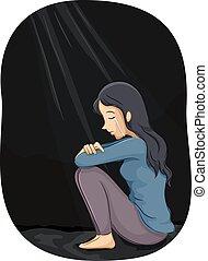 girl, dépression