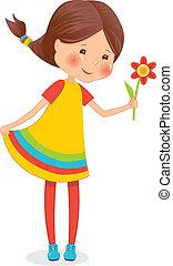 girl, fleur
