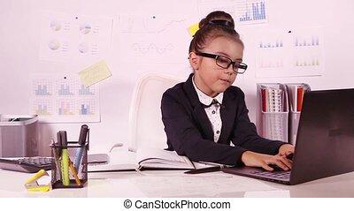 girl, joli, business, fonctionnement