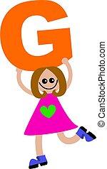 girl, lettre g