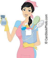 girl, nettoyage