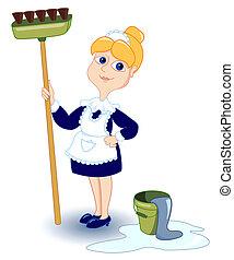girl., nettoyage